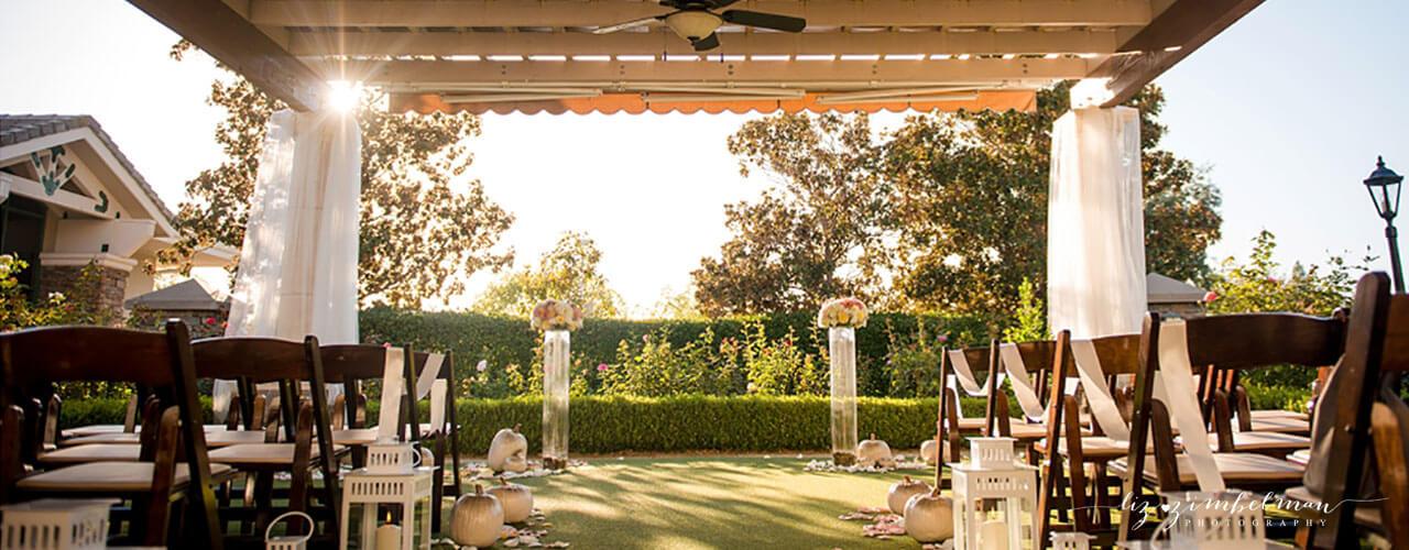 outdoor venue for roseville weddings
